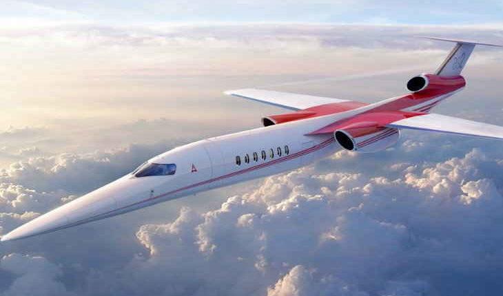ये कंपनी बनाएगी 1600 Kmph रफ्तार से उड़ सकने वाला सुपरसोनिक बिजनेस प्लेन !