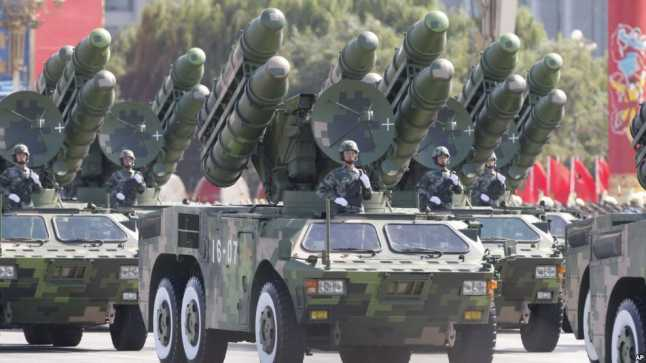 चीनी सेना ने किया अत्याधुनिक DF-16 मीडियम रेंड बलिस्टिक मिसाइलों के साथ अभ्यास : भारत, जापान, और अमेरिका पर हैं नजर