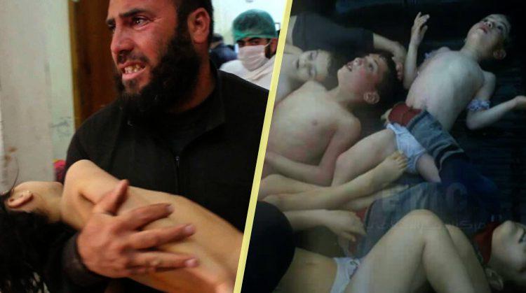 सीरिया अटैक: इंसानियत शर्मसार, इस तस्वीर ने हर किसी को झकझोर दिया