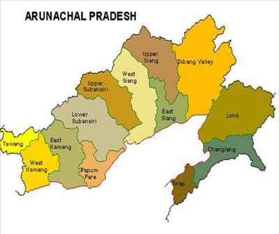 चीन ने अरुणाचल प्रदेश को फिर बताया अपना हिस्सा, छह जगहों के बदले नाम