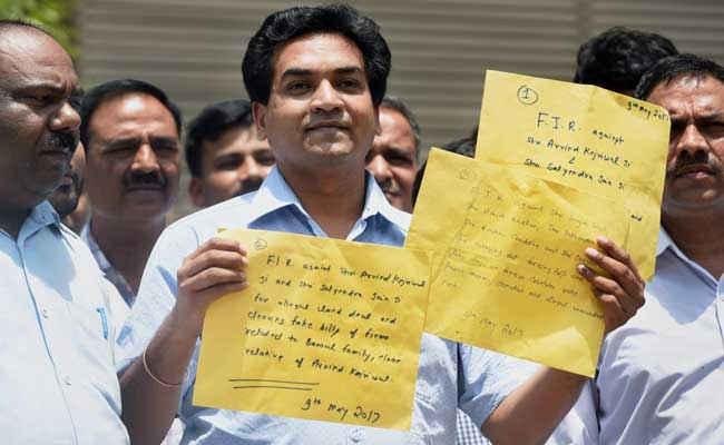 अरविंद केजरीवाल के खिलाफ कपिल मिश्रा द्वारा लगाए गए आरोपों की CBI जांच करेगी- सूत्र