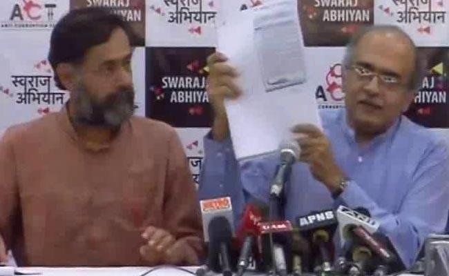 योगेंद्र यादव ने कपिल मिश्रा को लिखा खुला खत, बोले – बंद करें अरविंद केजरीवाल पर रोज-रोज आरोप लगाना