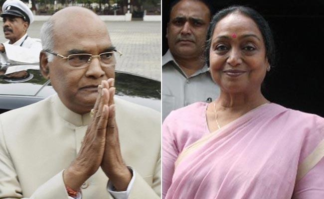 राष्ट्रपति चुनाव के लिए वोटों की गिनती जारी, रामनाथ कोविंद हैं मीरा कुमार से आगे