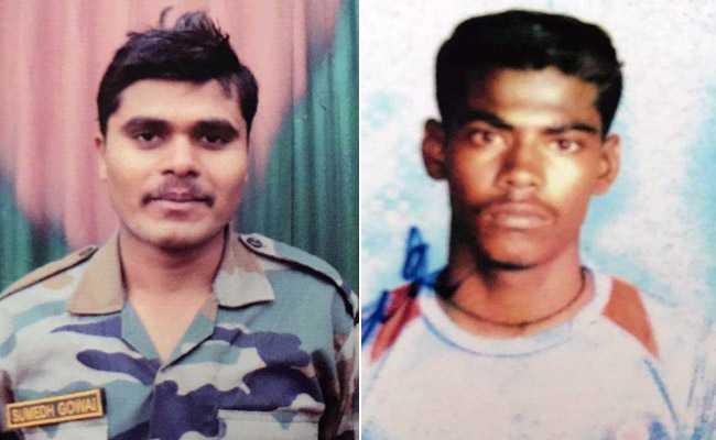 कश्मीर में सुरक्षाबलों ने तीन आतंकी मार गिराए, दो जवान शहीद