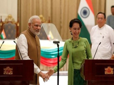 अंतरराष्ट्रीय सम्मेलन में म्यांमार के खिलाफ जारी घोषणा पत्र से अलग रहा भारत