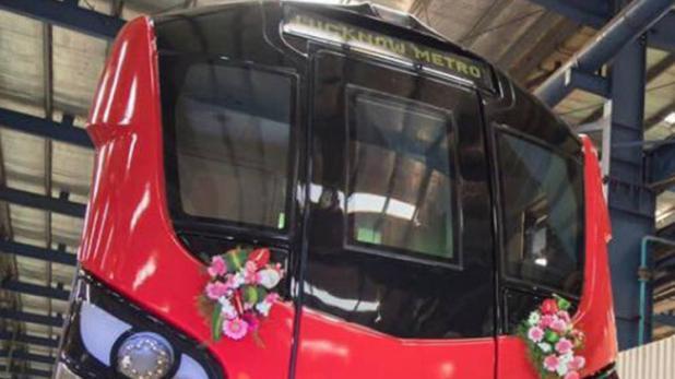 राजनाथ और योगी दिखाएंगे लखनऊ मेट्रो को हरी झंडी