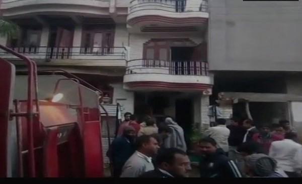 जयपुर : रसोई गैस सिलेंडर फटा, परिवार के 5 लोगों की मौत