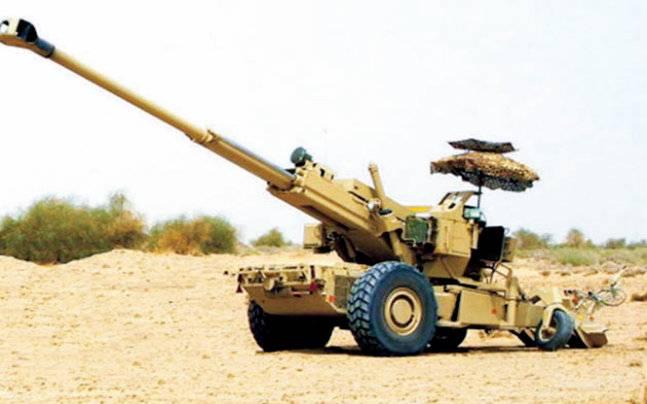 भारतीय तोप 'धनुष' सेना में शामिल ।