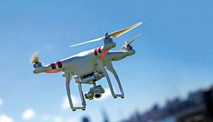 फिरोजपुर सीमा पर पाकिस्तानी ड्रोन फिर दिखा, 5 किमी तक अंदर आया।