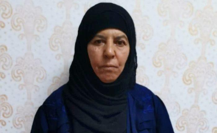 बगदादी की बहन सीरिया में तुर्की द्वारा पकड़ी गई।