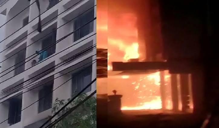 आंध्र प्रदेश: कोविड केयर सेंटर में लगी आग, 10 लोगों की मौत
