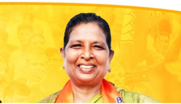 रेणु देवी बनीं बिहार की डिप्टी सीएम, रह चुकी है महिला मोर्चा की महामंत्री ।