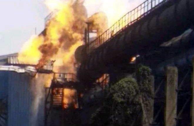 छत्तीसगढ़ के भिलाई स्टील प्लांट में लगी भीषण आग, 13 की मौत