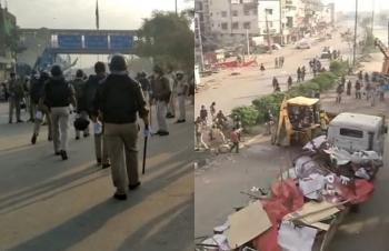 Shaheen Bagh: लाक्डाउन के चलते पुलिस ने उखाड़े टेंट ,100 दिनों से जारी धरना खत्म