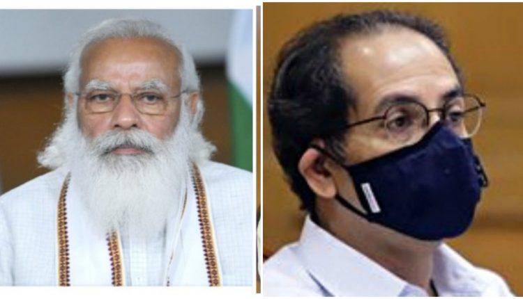 कोरोना के चलते पीएम मोदी ने महाराष्ट्र के सीएम उद्धव ठाकरे से की बात ।