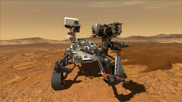 नासा के पर्सिवरेंस रोवर ने मंगल पर सांस लेने योग्य ऑक्सीजन का निर्माण किया।