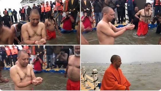 बसंत पंचमी: CM योगी आदित्यनाथ समेत लाखों श्रद्धालुओं ने संगम में लगाई पुण्य की डुबकी!