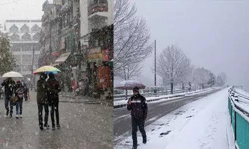 हिमाचल प्रदेश: फिर बिगड़ेगा मौसम का मिजाज, बारिश-बर्फबारी के साथ ओलावृष्टि की चेतावनी